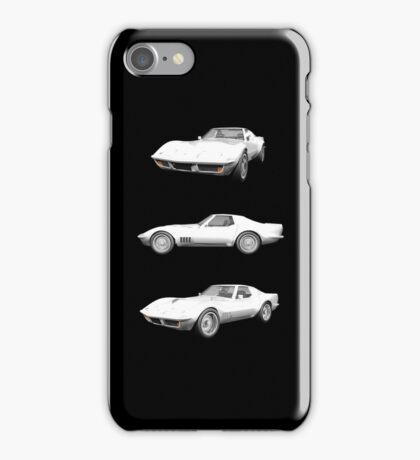 White 1970 Corvette iPhone Case/Skin