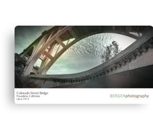 CO Street Bridge Canvas Print