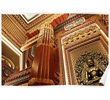 Mudhra Mandala Palace, Lingshan, Wuxi, Jiangsu Poster