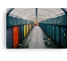 Coloured Tunnel Canvas Print