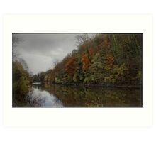 River Severn Ironbridge. Art Print
