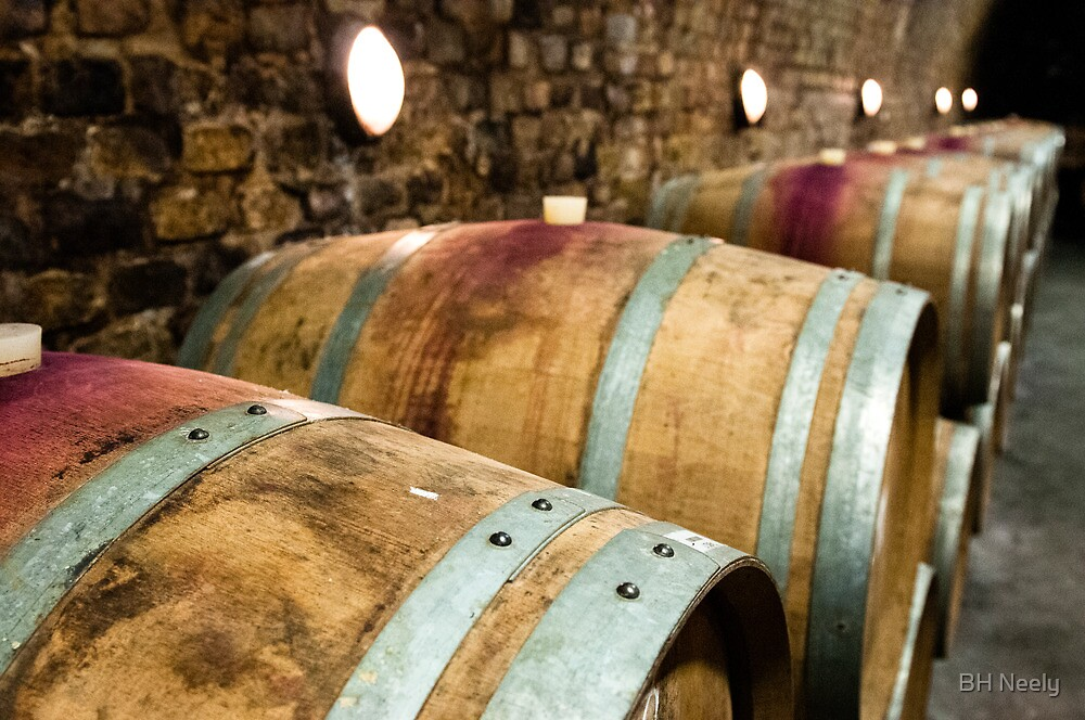 Aging Cabernet Franc by BH Neely