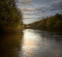 River Severn Ironbridge.. by tiggertastic