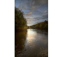 River Severn Ironbridge.. Photographic Print