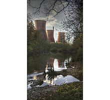 Ironbridge power plant. Photographic Print
