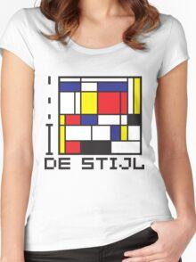 I LOVE DE STIJL T-shirt Women's Fitted Scoop T-Shirt