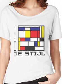 I LOVE DE STIJL T-shirt Women's Relaxed Fit T-Shirt