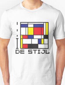 I LOVE DE STIJL T-shirt Unisex T-Shirt