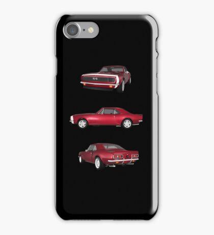 Candy Apple 1967 Camaro SS iPhone Case/Skin
