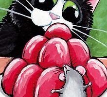 Hide & Seek Strawberry Jelly by Lisa Marie Robinson