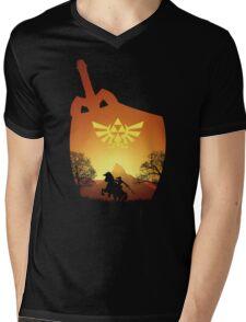 A hero's destiny Mens V-Neck T-Shirt