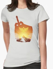 A hero's destiny Womens Fitted T-Shirt