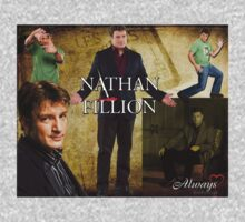Nathan Fillion One Piece - Long Sleeve
