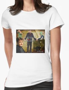 Nathan Fillion Womens Fitted T-Shirt