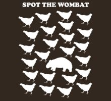 Spot the Wombat by Martin Madsen