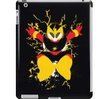 Elec Man Splattery Design iPad Case/Skin