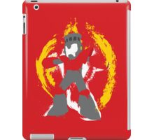 Robot Master Fire Man Vector Design iPad Case/Skin