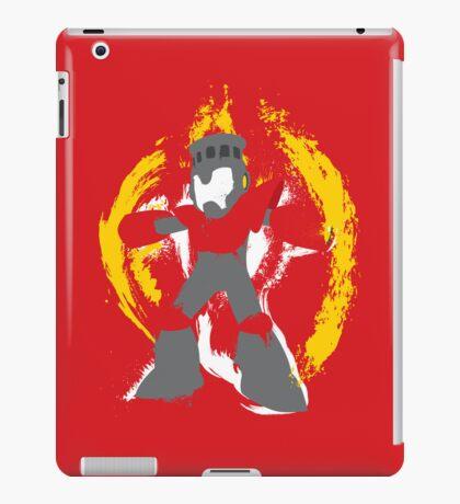 Robot Master Fire Man Vector Design iPad Case/Skin