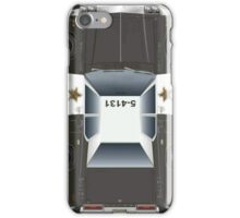 "The Blues Brothers car ""BluesMobile"" 74 Dodge (Zoom to open) iPhone Case/Skin"