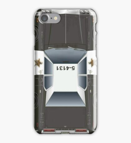 """The Blues Brothers car """"BluesMobile"""" 74 Dodge (Zoom to open) iPhone Case/Skin"""