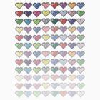 96 hearts by IamJane--