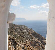 Amorgos Monastery view by SlavicaB