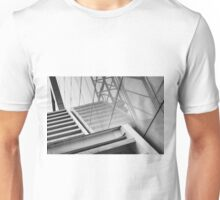 Monochrome Building Abstract 2 Unisex T-Shirt