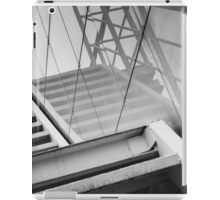 Monochrome Building Abstract 2 iPad Case/Skin