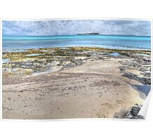 Ocean view from West Bay Street in Nassau, The Bahamas Poster