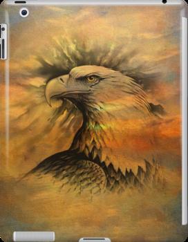 iPad Case-Bald Eagle by Pamela Phelps