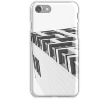Monochrome Building Abstract 4 iPhone Case/Skin