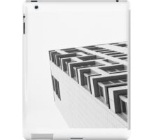 Monochrome Building Abstract 4 iPad Case/Skin