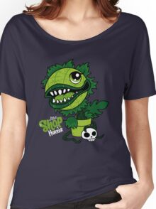Littlest Shop Of Horror Women's Relaxed Fit T-Shirt