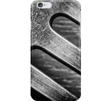 Monochrome Kitchen Fork Abstract iPhone Case/Skin