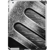 Monochrome Kitchen Fork Abstract iPad Case/Skin