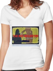 The Red Orchestra Women's Fitted V-Neck T-Shirt