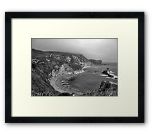 Man o War Bay - Dorset Framed Print
