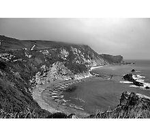 Man o War Bay - Dorset Photographic Print