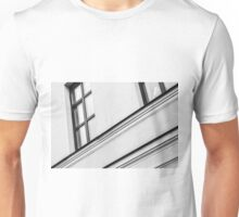 Monochrome Building Abstract 5 Unisex T-Shirt