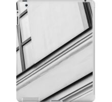 Monochrome Building Abstract 5 iPad Case/Skin