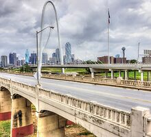 Downtown Dallas Aerial 2012 HDR by paynewphoto