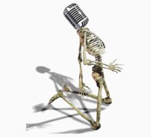 MICROPHONE AND SKELETON by starone