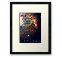 Explore II Framed Print