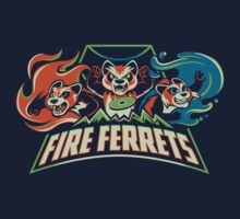 Fire Ferrets! One Piece - Short Sleeve