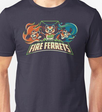 Fire Ferrets! Unisex T-Shirt