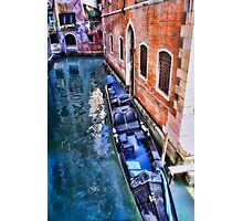 Venice Transportation Photographic Print