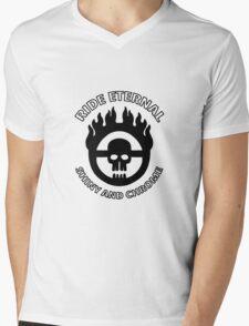 Desert Warrior Mens V-Neck T-Shirt
