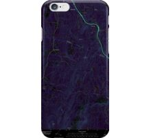 USGS TOPO Map New Hampshire NH North Grantham 20120508 TM Inverted iPhone Case/Skin