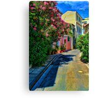 Athens Neighborhood Canvas Print