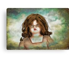 Scary Doll Canvas Print